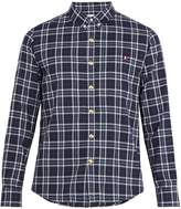 Moncler Gamme Bleu Single-cuff checked-cotton shirt