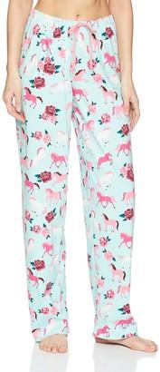 Hatley Little Blue House Women's Jersey Pyjama Bottoms