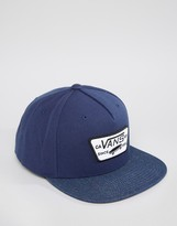 Vans Full Patch Snapback Cap Vqpujfi