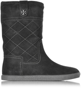 Tory Burch Alana Black Suede Boot