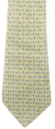 0749fc1d237d Salvatore Ferragamo Green Ties - ShopStyle