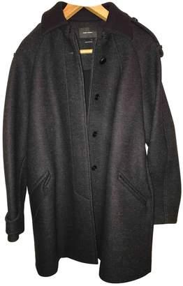 Isabel Marant Black Wool Coat for Women