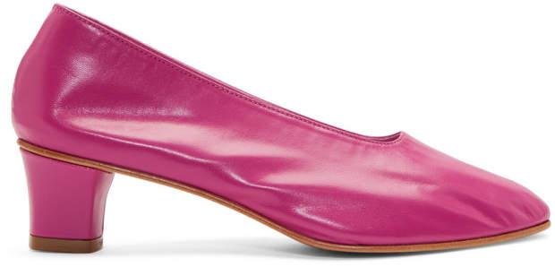Martiniano Pink High Glove Heels