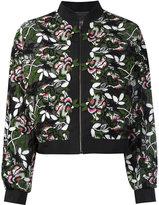 Giambattista Valli floral embroidered jacket - women - Cotton/Polyester/Polyamide/Silk - 42