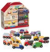 Guidecraft Wooden Truck Collection Set