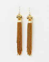 Toffee Tassel Earrings