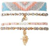 Charlotte Russe Embellished Layering Bracelets - 4 Pack