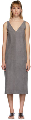 The Row Grey Koya Dress