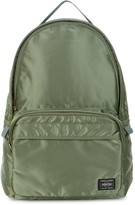 Porter Tanker Green Satin Backpack