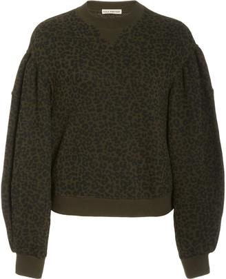 Ulla Johnson Lula Balloon-Sleeve Cotton Sweater
