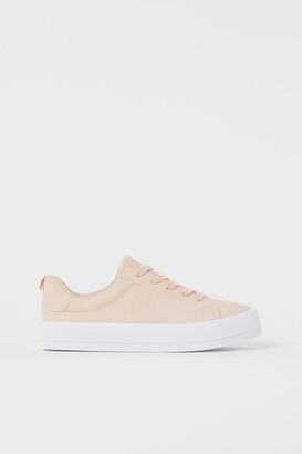 H&M Platform Sneakers - Orange