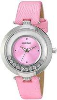 Ellen Tracy Women's Quartz Metal Watch, Color:Pink (Model: ET5200SLPK)
