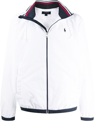 Polo Ralph Lauren Logo-Embroidered Hooded Jacket