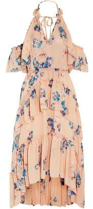Ulla Johnson Valentine Ruffled Floral-print Silk-georgette Dress