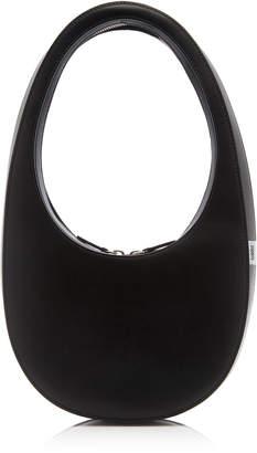 Coperni Swipe Black Leather Bag
