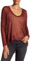 Zadig & Voltaire Preppy Hi-Lo Wool Blend Sweater