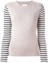 Chinti and Parker Breton sleeve sweater