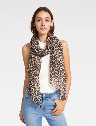 Ever New Tessa Leopard Print Scarf