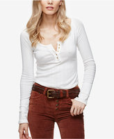 Free People Sugar And Spice Fitted Henley