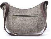 Borbonese Small O.p. Jet And Leather luna Bag