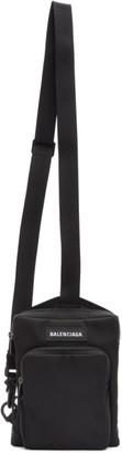 Balenciaga Black Explorer Crossbody Bag