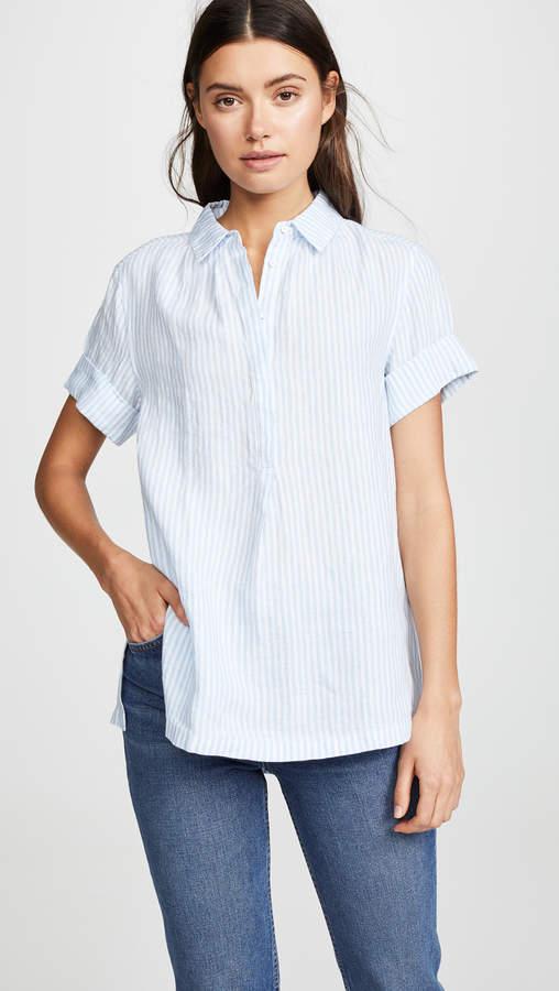 0641b51889f95b White Linen Top - ShopStyle