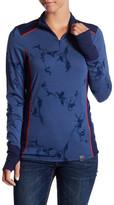 Helly Hansen Mid Graphic 1/2 Zipper Merino Wool Sweater