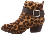 Vivienne Westwood Ponyhair Ankle Boots