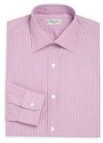 Charvet Regular-Fit Striped Cotton Dress Shirt