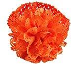 TRENDINAO Lovely Baby Infants Girls Chiffon Lace Dress Up Head band Hairband (Orange)
