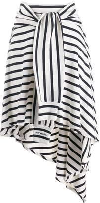 Sonia Rykiel striped jersey skirt