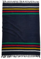 HBC Hudson'S Bay Company Caribou Throw Navy