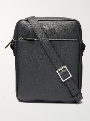 SERAPIAN Full-Grain Leather Messenger Bag