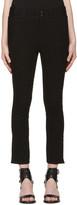 Isabel Marant Black Linen Feriel Jeans