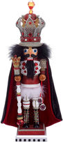 Kurt Adler 18 Hollywood King Nutcracker with Wire Crown