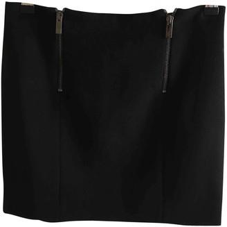 Blumarine Black Wool Skirt for Women