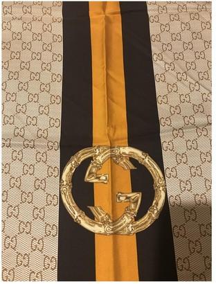 Gucci Gold Silk Scarves