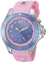 KYBOE! 'Power' Quartz Stainless Steel and Silicone Casual Watch, Color:Pink (Model: KY.48-016.15)