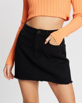 Missguided Petite Petite A-Line Mini Skirt