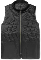 Saturdays NYC Nazar Quilted Shell Gilet - Black