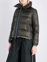 Sacai Padded shell puffer jacket
