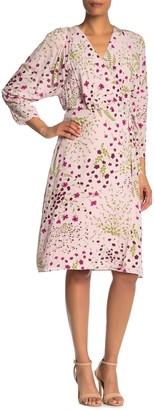Joie Acantha Floral Wrap Dress