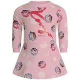 Kenzo KidsGirls Pink Floral Print Sweater Dress