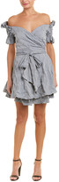 Jonathan Simkhai Seersucker Wrap Dress