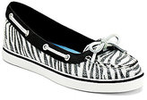 Sperry Women ́s Lola Zebra-Sequins Boat Shoes