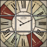 Asstd National Brand FirsTime Hues Studio Wall Clock
