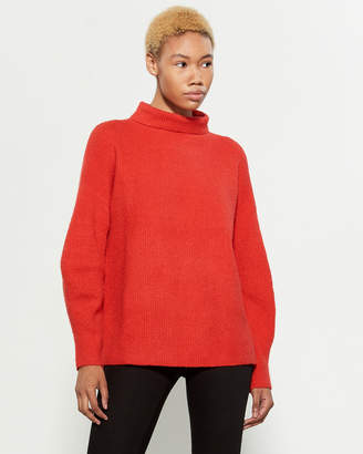 French Connection Red Flossy Turtleneck Sweater