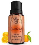 Sweet Orange Oil by Ovvio Oils - All Natural Cleaning. Essential Oil Can Be Used Polish and Mood Enhancer - Origin: Brazil - Full 15ml - Unleash The Power of Orange Oil on Your Wood Furniture, Use As A Surface Cleaner, Or As A Natural And Chemical Free Spray Cleaner. Pure Wild Orange Extract.