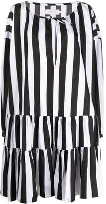 Marques Almeida Striped Print Dress