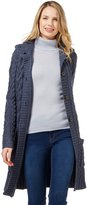 Wool Overs Women's British Wool Aran Coat Cardigan